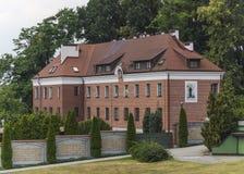 Heiligdom van Goddelijke Genade in Krakau Stock Foto