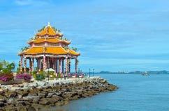 Heiligdom van Guan Yin in Koh Loy Stock Foto