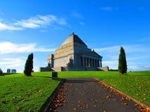 Heiligdom van Herinnering Melbourne Royalty-vrije Stock Foto