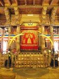 Heiligdom van het de Tandoverblijfsel van Boedha in Sri Dalada Maligawa, Sri Lanka Stock Afbeelding