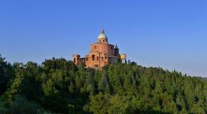 Heiligdom van Madonna Di San Luca Royalty-vrije Stock Foto