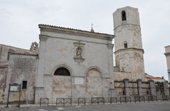 Heiligdom van Monte Sant ' Angelo Stock Foto's