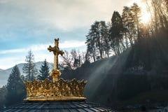Heiligdom van Onze Dame van Lourdes Royalty-vrije Stock Foto