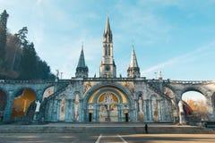 Heiligdom van Onze Dame van Lourdes Stock Afbeelding