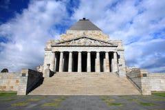 Heiligdom van Remembrance.Melbourne Royalty-vrije Stock Afbeelding