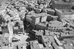 Heiligdom van Santa Margherita in Cortona royalty-vrije stock afbeelding