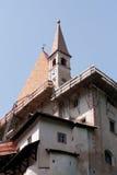Heiligdom van St. Romedio Stock Afbeelding