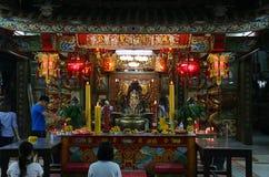 Heiligdom van stadsgod Stock Foto