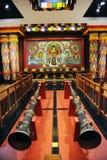 Heiligdom van Tibetan Boeddhisme royalty-vrije stock foto's
