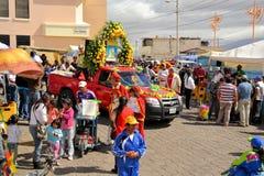 Heiligdom van Virgen DE La Merced bij La-Fiestamamma Stock Foto's