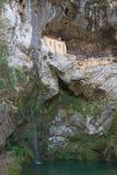Heiligdom van Virgin van Covadonga Stock Foto