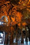 Heiligdom van Waarheid houten beeldhouwwerk Royalty-vrije Stock Fotografie