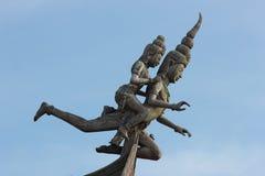 Heiligdom van Waarheid in Pattaya Stock Fotografie