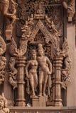 Heiligdom van Waarheid in Pattaya Royalty-vrije Stock Fotografie