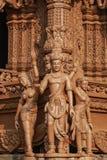 Heiligdom van Waarheid in Pattaya Stock Afbeelding