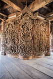 Heiligdom van Waarheid in Pattaya, Thailand Stock Afbeelding