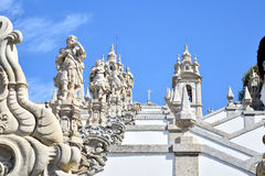 Heiligdoms` s trap van bom Jesus Stock Afbeeldingen