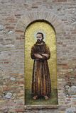 Heiligdomsmadonna van de Pracht in Giulianova stock afbeelding