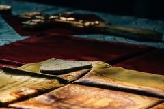 Heilige altaardoek Royalty-vrije Stock Fotografie
