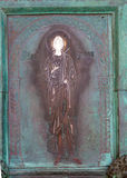 Heilige Amalfi-Kathedrale, alt, Tür, taly Stockbilder