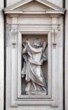 Heilige Andrew de apostel stock afbeeldingen