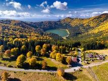 Heilige Anna Lake royalty-vrije stock afbeelding