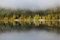 Heilige Anna Lake Royalty-vrije Stock Afbeeldingen
