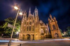 Heilige Anne Church in Vilnius, Litouwen Stock Afbeelding