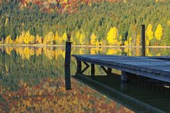 Heilige Anne Lake Stock Foto's