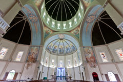 Heilige Anthony Basilica Ceiling Vitoria Brazilië Royalty-vrije Stock Foto's