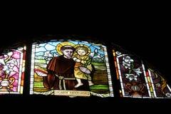 Heilige Anthony van Padua stock fotografie