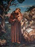 Heilige Anthony van Padua Stock Foto