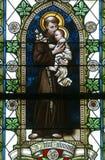 Heilige Anthony van Padua Royalty-vrije Stock Fotografie