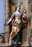 Heilige Barbara royalty-vrije stock foto's