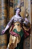 Heilige Barbara stock afbeeldingen
