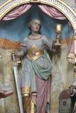 Heilige Barbara royalty-vrije stock afbeeldingen