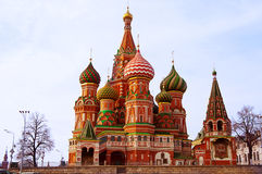 Heilige Basil Cathedral Royalty-vrije Stock Afbeeldingen