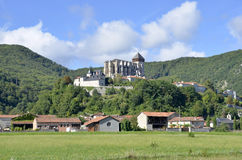 Heilige Bertrand de Comminges Cathedral Royalty-vrije Stock Afbeelding