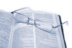 Heilige Bibel Lizenzfreies Stockbild