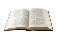 Heilige Bibel auf spanisch Lizenzfreie Stockfotografie