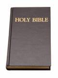 Heilige Bibel getrennt auf Weiß. Lizenzfreies Stockbild
