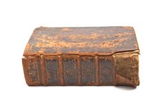 Heilige Bibel XVI vom Jahrhundert Lizenzfreies Stockfoto
