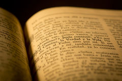 Heilige bijbel stock fotografie