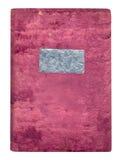 Heilige Bijbel in een zachte fluweeldekking Royalty-vrije Stock Afbeeldingen