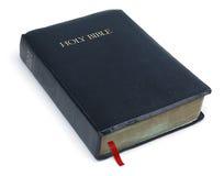 Heilige Bijbel op wit royalty-vrije stock fotografie