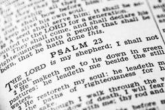 Heilige Bijbelpsalmen Stock Foto