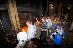 Heilige Brand Royalty-vrije Stock Foto