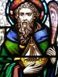 Heilige Brendan stock illustratie