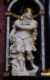Heilige Charlemagne, als Charles dat ook Groot wordt bekend stock afbeeldingen