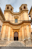 Heilige Charles Borromeo Church, Noto, Sicilië, Italië Royalty-vrije Stock Afbeeldingen